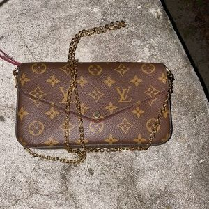 louis vuitton felicie pochette monogram crossbody